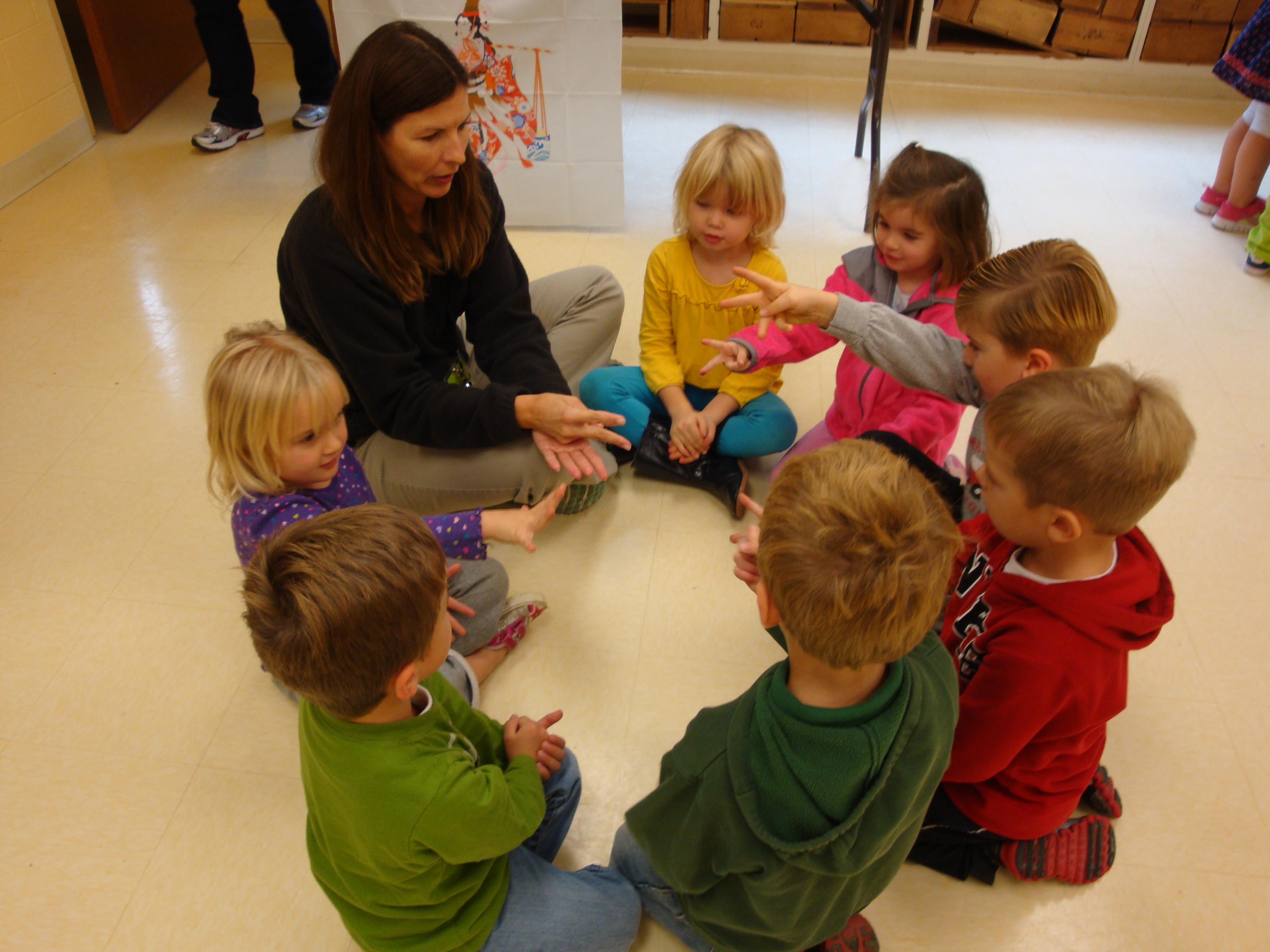 Typical Day | St. Thomas Nursery School